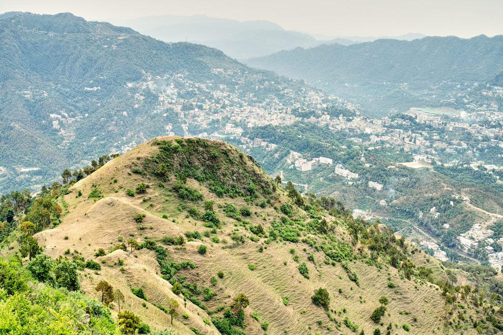 Solan to Pandava Gufa and Karol Ka Tibba